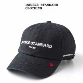7927773ffb1 DOUBLE STANDARD CLOTHING ダブルスタンダードクロージング 通販 ベースボールCAP 0600-130-191