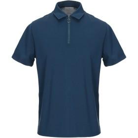 《期間限定セール開催中!》VINCE. メンズ ポロシャツ ブルー S コットン 100%