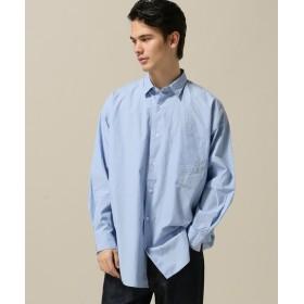 B.C STOCK シャンブレードロップシャツ サックスブルー M