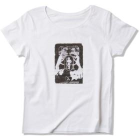 Tシャツ レディース「向かい合うユニコーン」受注生産