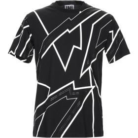 《期間限定セール開催中!》LHU URBAN メンズ T シャツ ブラック S コットン 100%