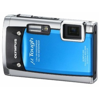OLYMPUS 防水デジタルカメラ μ TOUGH 6020 ブルー μ TOUGH-6020 BLU(中古品)