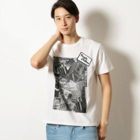 [マルイ]【セール】フォトプリント半袖Tシャツ/パープル&イエロー(Purple & Yellow)