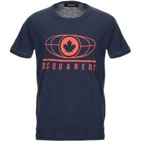 《セール開催中》DSQUARED2 メンズ T シャツ ダークブルー XS コットン 88% / レーヨン 12%