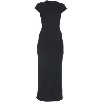 《セール開催中》TER ET BANTINE レディース ロングワンピース&ドレス ブラック 40 バージンウール 98% / ナイロン 2%