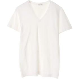 Souple Luz soupleluz(スープレルース) V NECK T-SHIRT Tシャツ・カットソー,オフホワイト