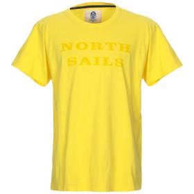 《セール開催中》NORTH SAILS メンズ T シャツ イエロー XXL コットン 100%