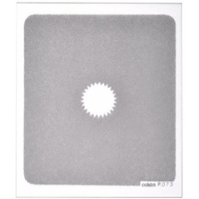 Cokin 角型レンズフィルター P073 センタースポット グレー 2 (広角用) 色 (中古品)