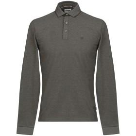 《期間限定 セール開催中》WRANGLER メンズ ポロシャツ ダークグリーン S コットン 100%