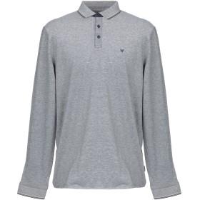 《期間限定セール開催中!》WRANGLER メンズ ポロシャツ ブルー M コットン 100%