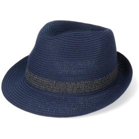 【オンワード】 Hat Homes(ハットホームズ) 【洗濯機で洗える中折れハット】カスターノ 洗える中折れハット ネイビー 62cm メンズ