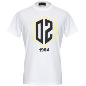 《期間限定 セール開催中》DSQUARED2 メンズ T シャツ ホワイト XS コットン 100%