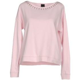 《セール開催中》PINKO レディース スウェットシャツ ライトピンク M コットン 100%