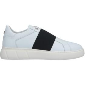 《セール開催中》CULT メンズ スニーカー&テニスシューズ(ローカット) ホワイト 41 革 / 紡績繊維