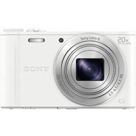 ソニー SONY デジタルカメラ Cyber-shot WX350 光学20倍 ホワイト DSC-WX35(中古品)
