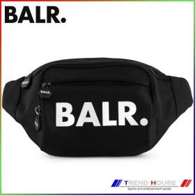 送料込み 代金引換不可 ボーラー BALR ウェストバック U-Series Waist Pack Black 18621/20914