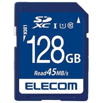 エレコム データ復旧SDXCカード(UHS-I U1) MF-FS128GU11R [MFFS128GU11R]