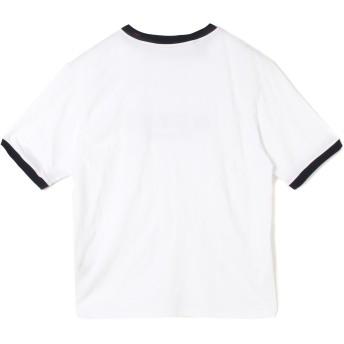 Tシャツ - GUESS【WOMEN】 【MENサイズ商品】[GENERATIONS x GUESS] LOGO RINGER S/S TEE