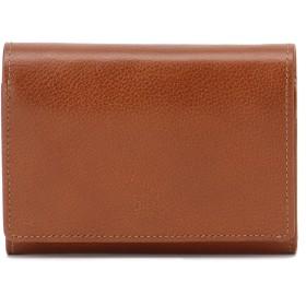 Eletha 【Eletha/エレザ】エレザ ベーシック 二つ折り財布 財布,キャメル
