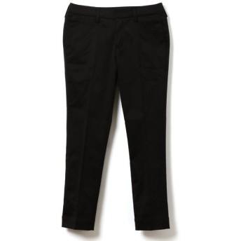 SHIPS for women / シップスウィメン BELLINI:コットンサテンパンツ black