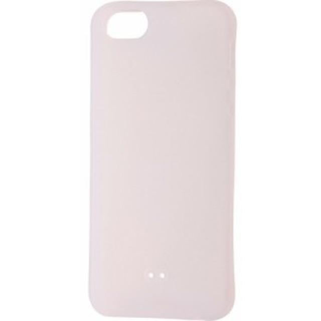39c44d05d3 【レイアウト iPhoneSE/5s/5 シリコン シルキータッチ/ホワイト 半透明 RT-