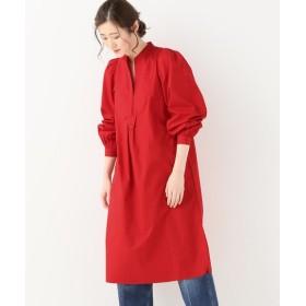 journal standard luxe 【ANTIK BATIK/アンティック バティック】 Sleeves gather Dress◆ レッド 40