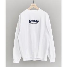 BEAUTY&YOUTH UNITED ARROWS / ビューティ&ユース ユナイテッドアローズ 【別注】 <THRASHER> LONG SLEEVE TEE/Tシャツ