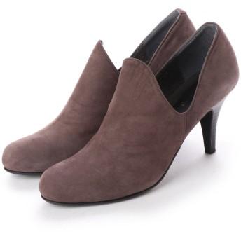シューズラウンジ shoes lounge ショートブーツ 4869934DGYN (ダークグレー)