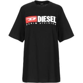 《セール開催中》DIESEL レディース T シャツ ブラック XS コットン 100%