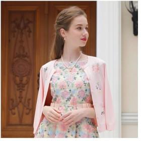 Rose Tiara / ローズティアラ フラワー刺繍カーディガン