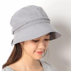 マルイの帽子 選べる4サイズ UVカット ドレープクロッシェ RC91YYU04