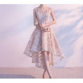 ワンピースドレス ワンピース ドレス 結婚式ドレス 上品でエレガントな印象に フィッシュテールパーティードレス a0207