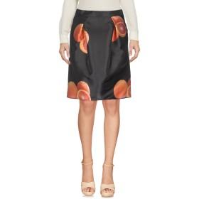 《期間限定セール中》ANNIE P. レディース ひざ丈スカート スチールグレー 40 ポリエステル 85% / シルク 15%