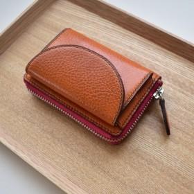 〈受注製作〉こだわり、革のお財布キーケース