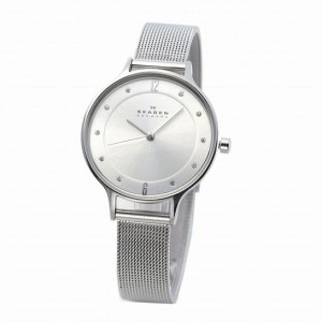 3b912fb993 スカーゲン SKAGEN SKW2149 レディス腕時計 ラインストーンインデックス メッシュストラップ SKW6318