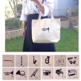 楽器コレクション Mサイズ トートバッグ