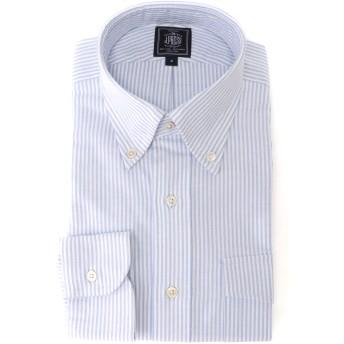 J.PRESS ジェイプレス J.PRESS / ジェイプレス VINTAGE OX IRVING B.D CANDY STRIPE カジュアルシャツ,ブルー