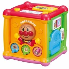 アンパンマン よくばりキューブ  おもちゃ こども 子供 知育 勉強 ベビー 0歳10ヶ月~