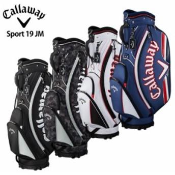 【2019モデル】キャロウェイ スポーツ 19 JM ゴルフ キャディバッグ Sport 19 JM Callaway