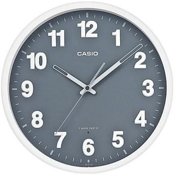 CASIO IQ-1012J-8JF(ホワイト・グレー) 電波掛け時計