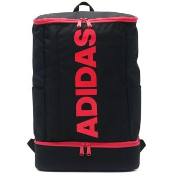 ギャレリア アディダス リュック adidas スクールバッグ リュックサック スクエア 27L 55855 ユニセックス ブラック F 【GALLERIA】