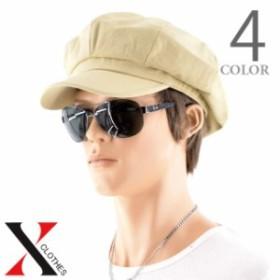 全品送料無料 キャスケット キャップ メンズ 帽子 カラー コットン キャス ハンチング 紫外線対策 つば付き UVカット シンプル つば付き