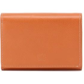 Eletha 【Eletha/エレザ】エレザ ベーシック 二つ折り財布 財布,オレンジ