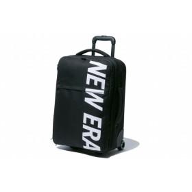 ニューエラ(NEW ERA) ウィールバッグ プリントロゴ ブラック × ホワイト 11901461