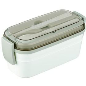 アスベル ランタスCS ランチボックス ホワイト 600ml CS-T600 弁当箱