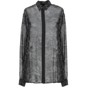《9/20まで! 限定セール開催中》DIESEL レディース シャツ ブラック XS レーヨン 100%