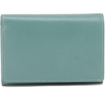 Eletha 【Eletha/エレザ】エレザ ベーシック 二つ折り財布 財布,スカイ