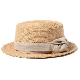 【30%OFF】 ビームス ウィメン CONTROL FREAK × Ray BEAMS / 別注 ラフ巻き カンカン帽 レディース NATURAL ONESIZE 【BEAMS WOMEN】 【セール開催中】