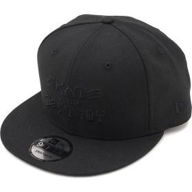 ニューエラ NEWERA スラッシャー SKATE AND DESTROY ロゴ キャップ 9FIFTY THRASHER スナップバック メンズ レディース 帽子 NEW ERA ブラック 11914525 SS19
