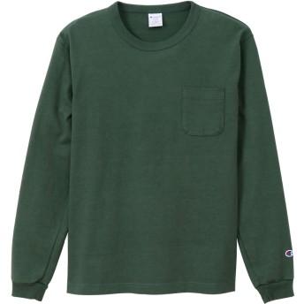 T1011(ティーテンイレブン) ポケット付きロングスリーブTシャツ 20SS MADE IN USA チャンピオン(C5-P401)【5500円以上購入で送料無料】